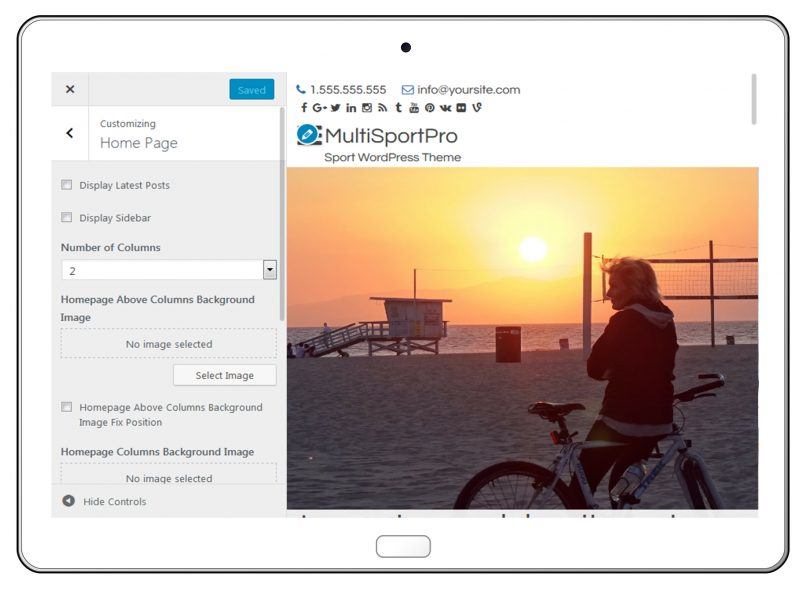MultiSportPro Home Page