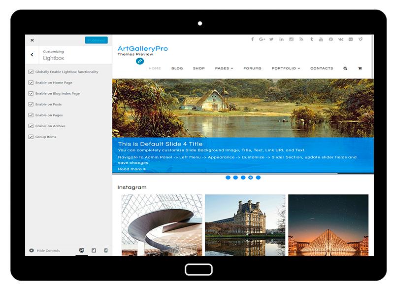 customizablethemes-tablet-mockup-black-ArtGalleryPro-Customizing-Lightbox