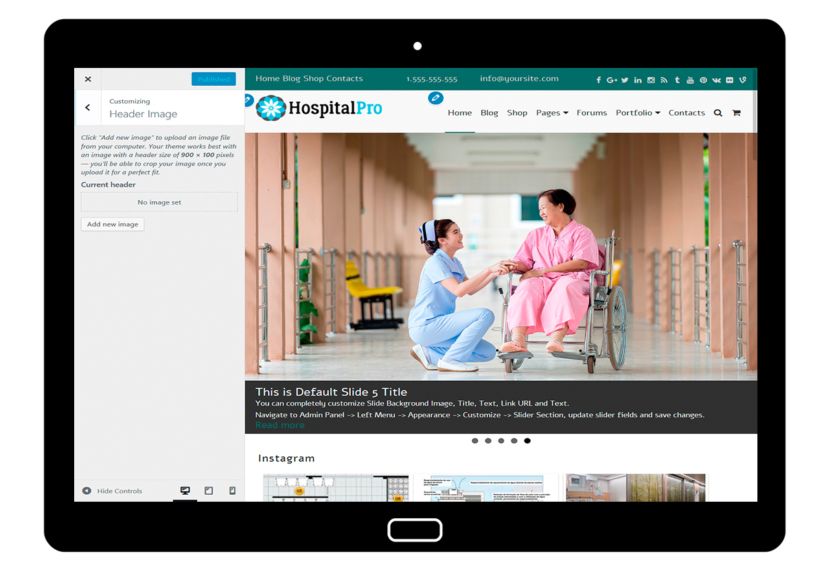 HospitalPro-customizing-header-image