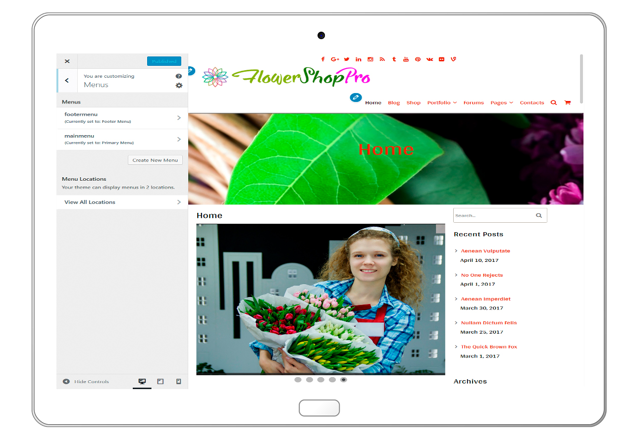 flowershoppro-customizing-menus