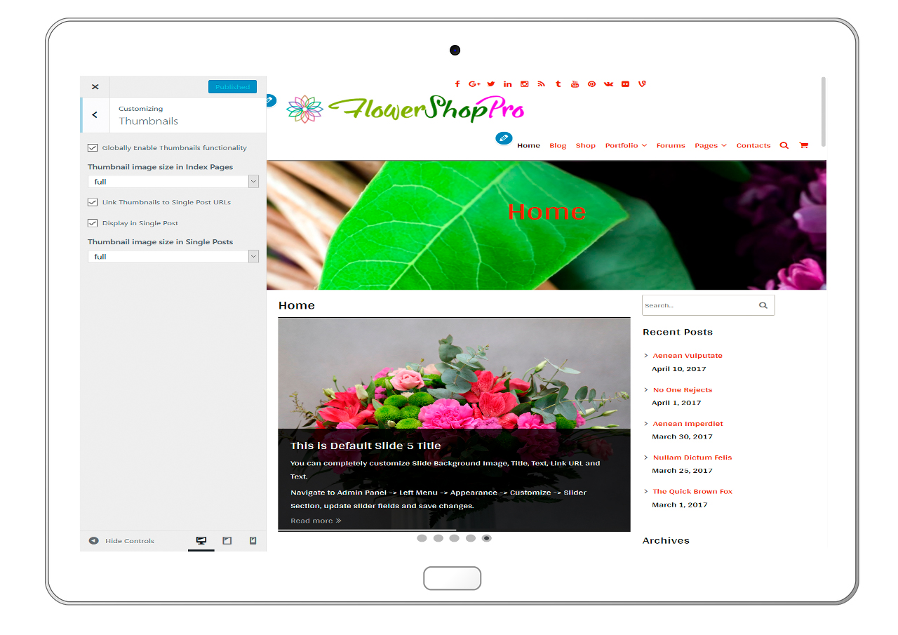 flowershoppro-customizing-thumbnails