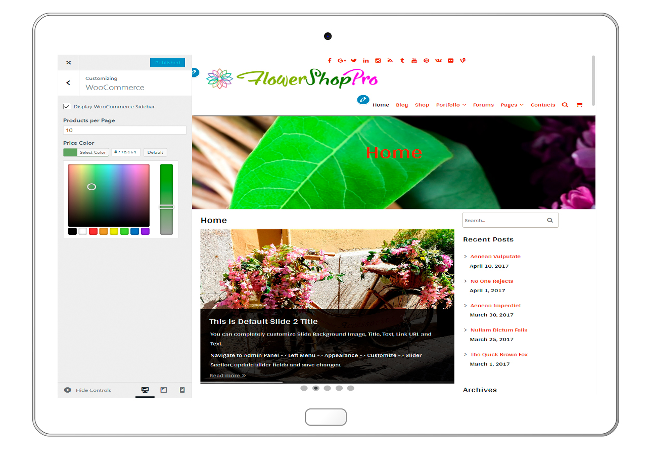 flowershoppro-customizing-woo-commerce