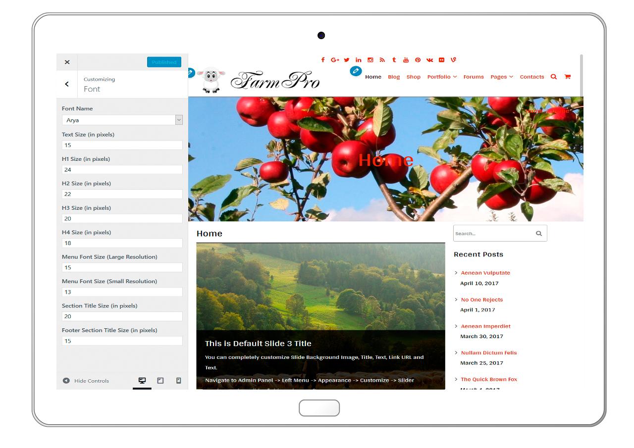 FarmPro-customizing-font