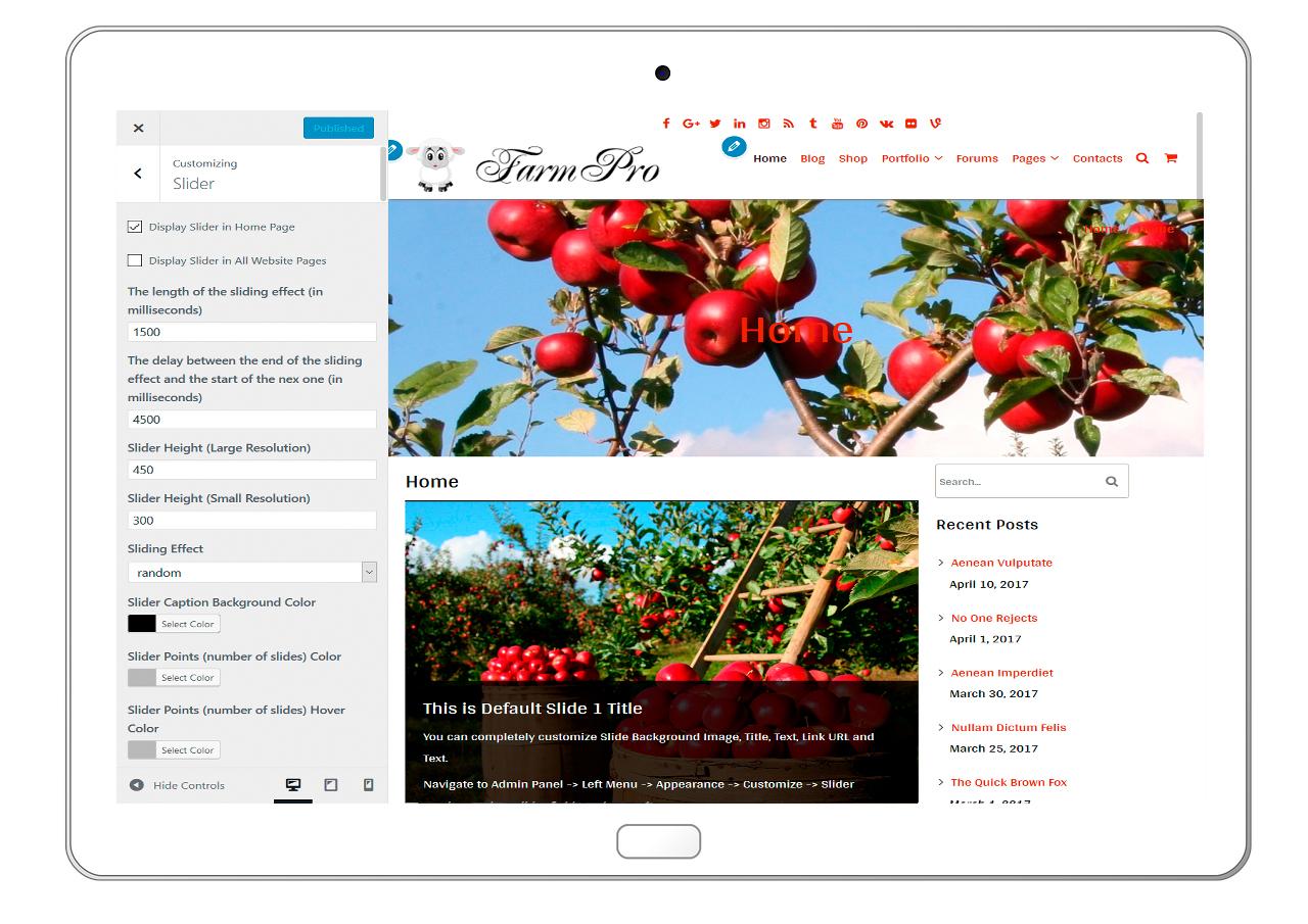 FarmPro-customizing-slider