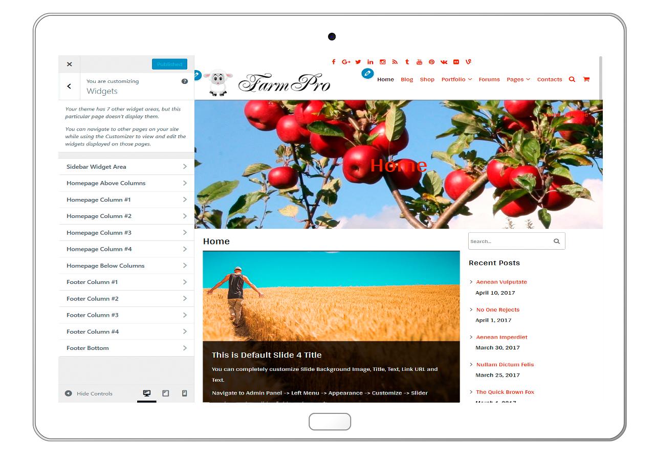 FarmPro-customizing-widgets