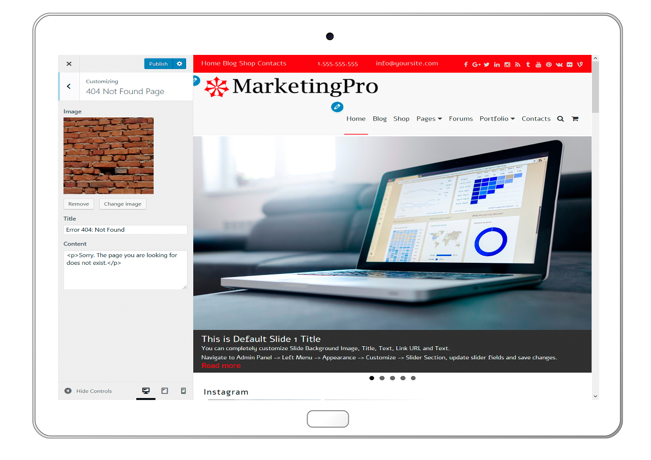 MarketingPro-customizing-404-not-found-page