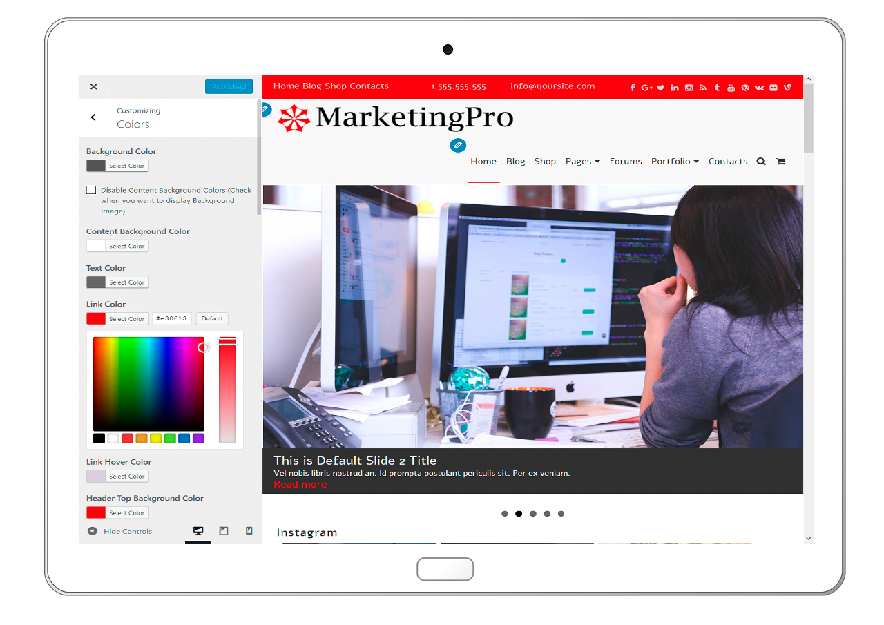 MarketingPro-customizing-colors