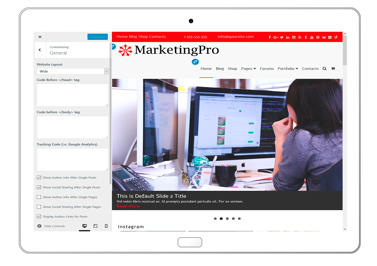 MarketingPro-customizing-general