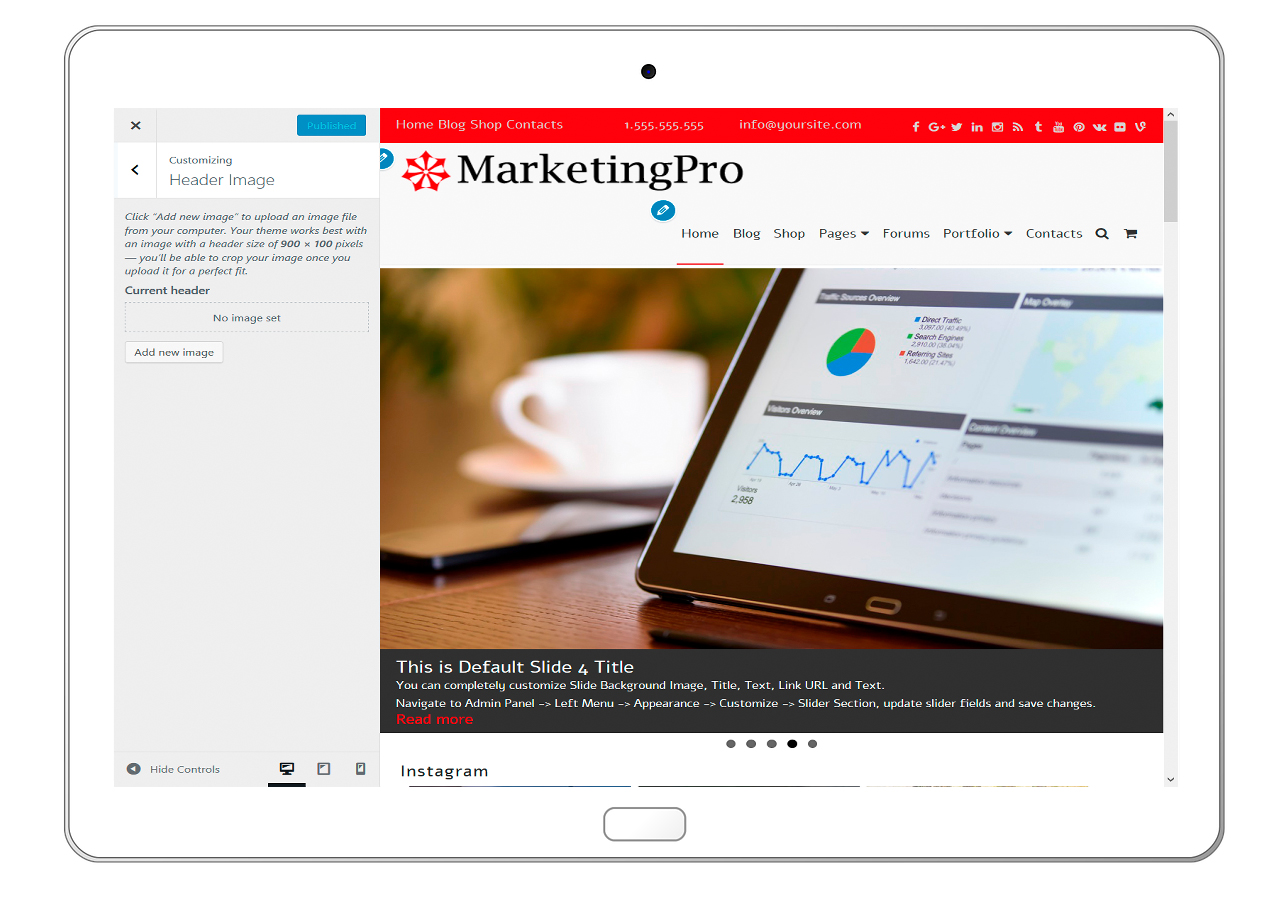 MarketingPro-customizing-header-image