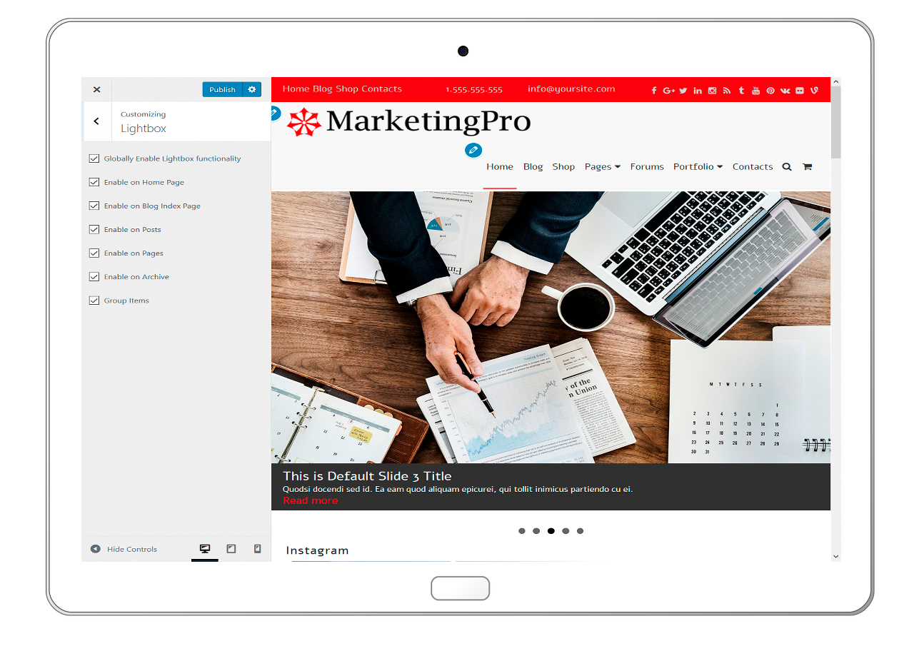 MarketingPro-customizing-lightbox