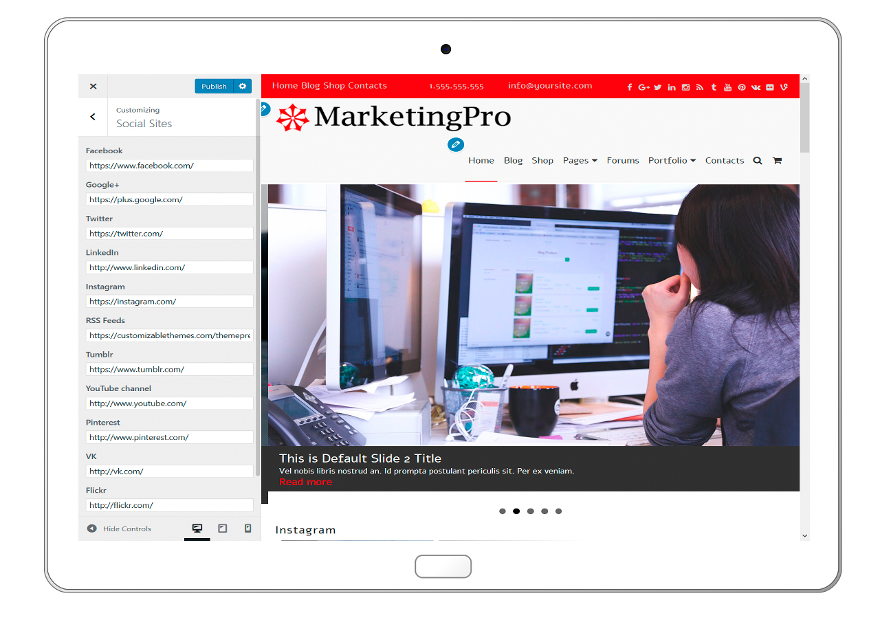 MarketingPro-customizing-social-sites