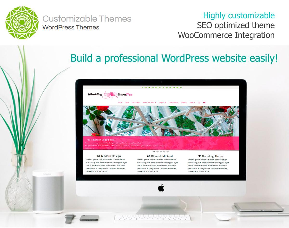 WeddingEventPro - Responsive Premium WordPress Theme