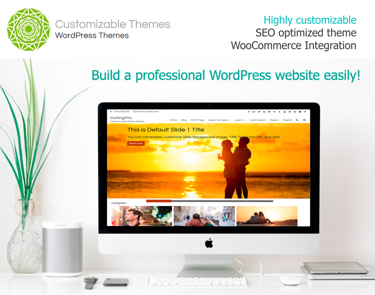 Dating site theme for wordpress