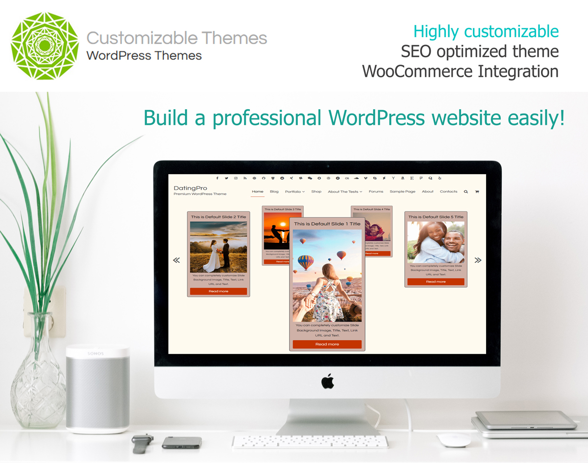 Datingpro Premium Wordpress Theme