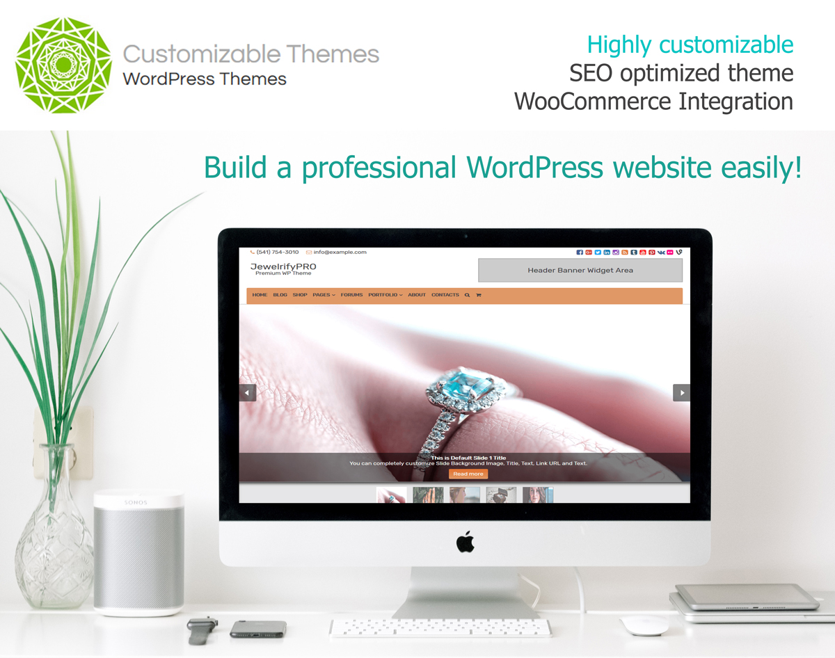 Jewelrifypro Premium Wordpress Theme